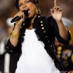 Jennifer Hudson sings national anthem ~ Superbowl XLIII