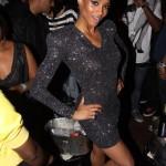 Shoulder Pads + Sequins = Ciara's NY Album Release Party