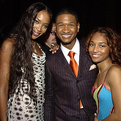 Usher Threesome ~ Naomi -Usher - Chilli
