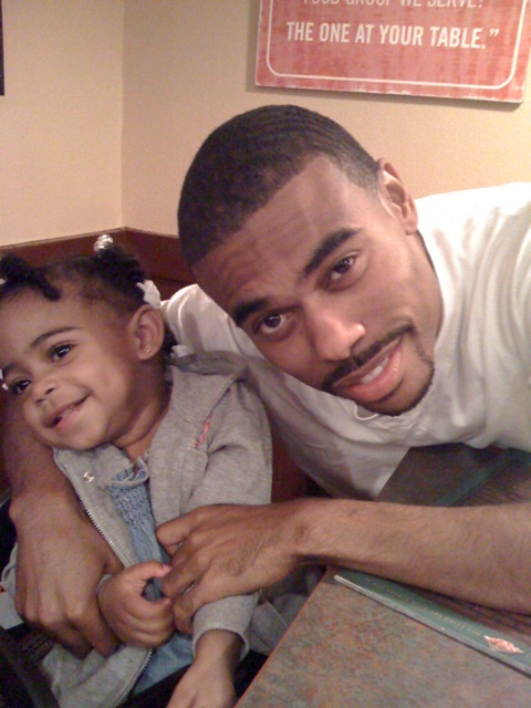 Lil Duval & His Daughter