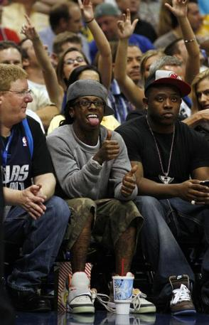 Lil Wayne @ Playoff Game