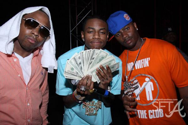 SouljaBoy has CASH!