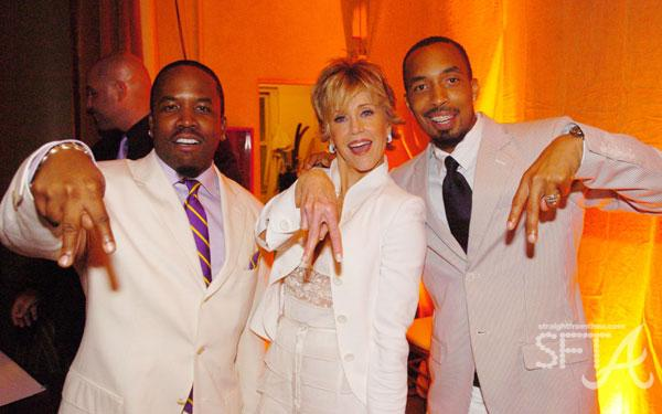 Big Boi, Jane Fonda, Dallas Austin