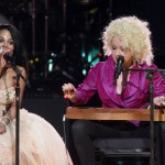 Lil Kim Sings With Cyndi Lauper (Video)