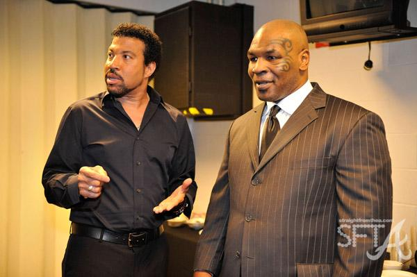 Lionel Ritchie & Mike Tyson