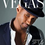 Usher Covers Vegas Magazine + Behind The Scenes Video