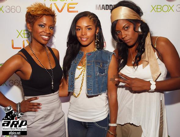 Kandi, Rashida & Mika Means
