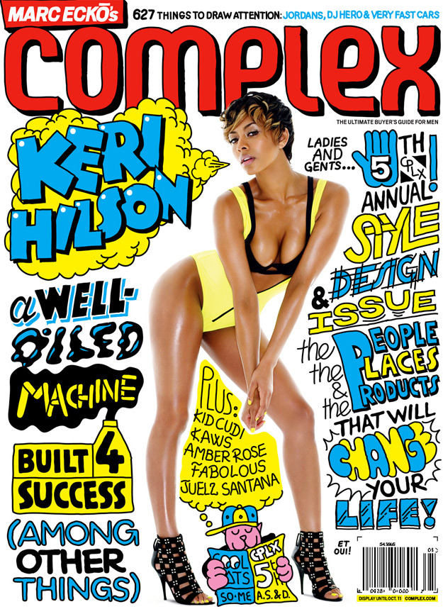 Keri Hilson Complex Aug / Sept Cover