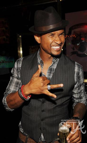 lady justice tattoo. Is Usher#39;s new tattoo a