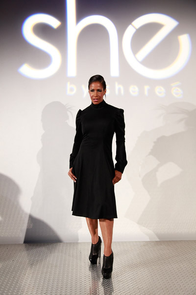 Sheree Whitfield Debuts She By Sheree at Fashion Week