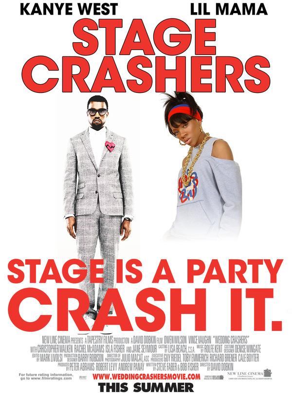Stage Crashers - Kanye West & Lil Mama