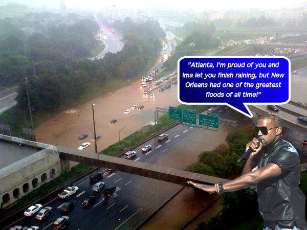 Kanye ~ Atlanta Flood