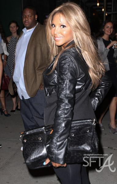 Toni Braxton in NYC