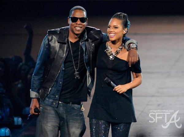 Jay-Z & Alicia Keys VMA