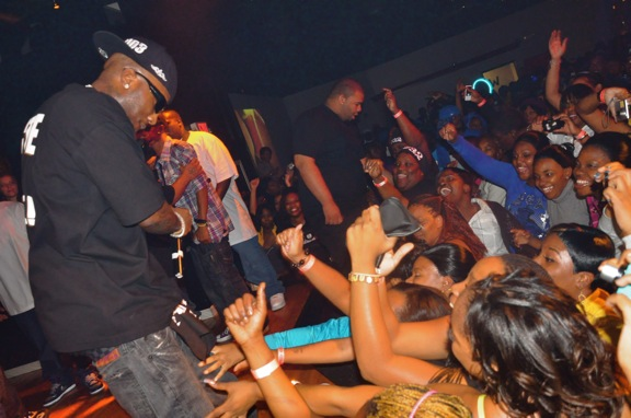 Young Jeezy Performing at Club Crucial