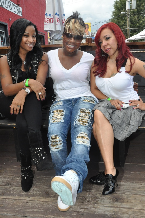 Toya ~ Ester Dean ~ Tiny at 2009 BET Hip Hop Awards Style Suite