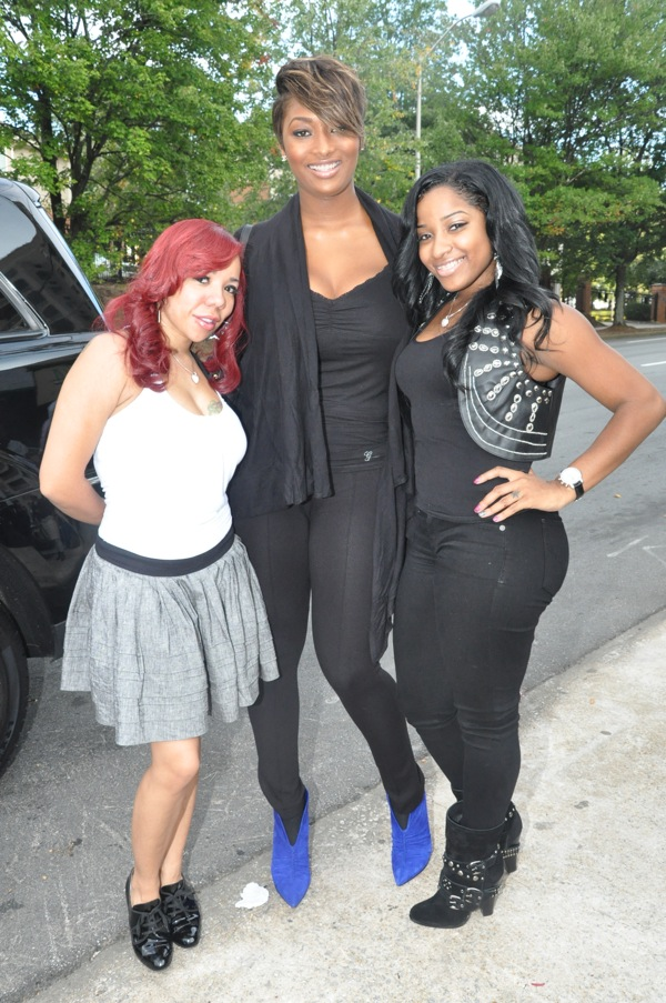 Tiny, Tocarra & Toya ~ 2009 BET Hip Hop Awards Style Suite