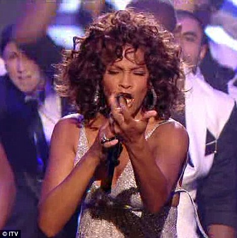 Whitney Houston ~ x-factor (Wardrobe Malfunction)