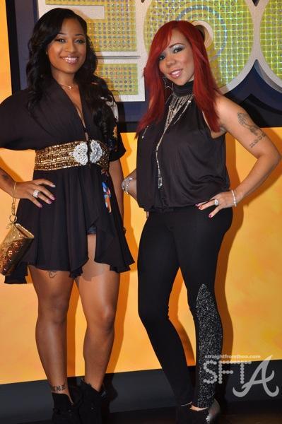 """Antonia """"Toya"""" Carter and Tameka """"Tiny"""" Cottle ~ 2009 BET Hip Hop Awards"""