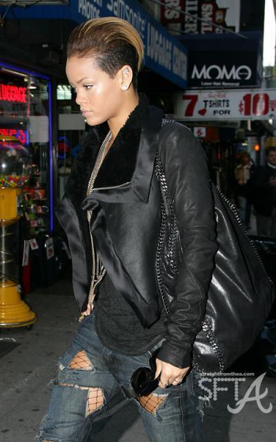 Rihanna in NY