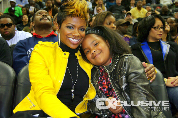 Kandi Burruss & Daughter Riley