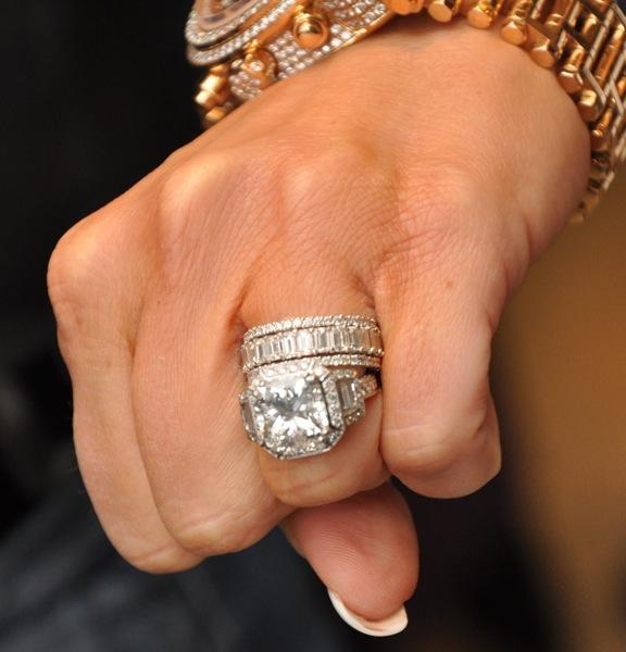 Kim Zolciak - Big Poppa Engagment Ring