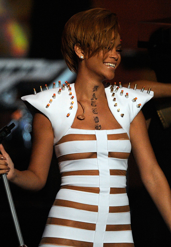 rihanna tattoos 2010. Rihanna+tattoos+neck