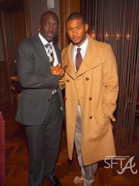Bu Thiam (CEO Convict Muzik) & Usher Raymond