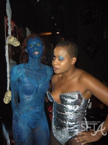 Costume Contest Winner (Blue Lady)