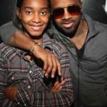 Jermaine Dupri & His Daughter