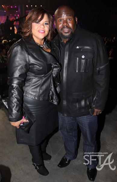Tamela J. Mann and David Mann
