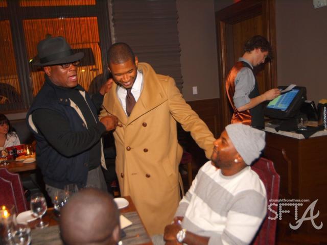 LA Reid, Usher, Young Jeezy