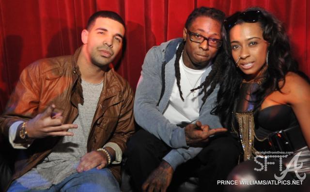 Drake, Lil Wayne & Shanell