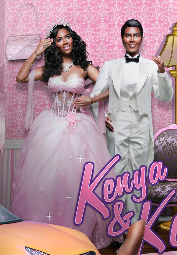 Kenya Moore by Derek Blanks