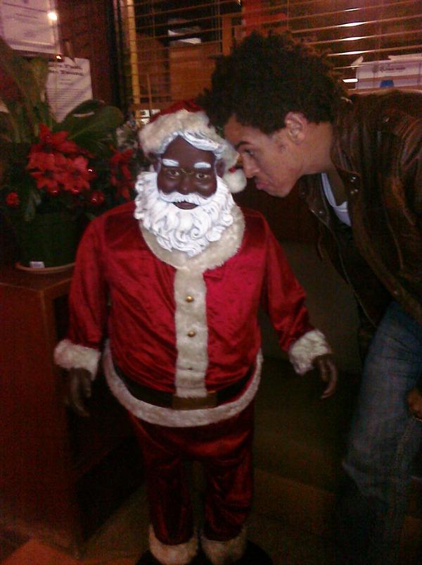 Steph Jones & Blank Santa
