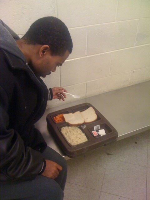 Lil Duval with Dekalb County Jail Food