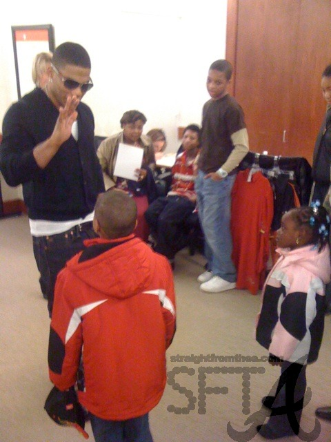 Nelly & Kids at Macy's