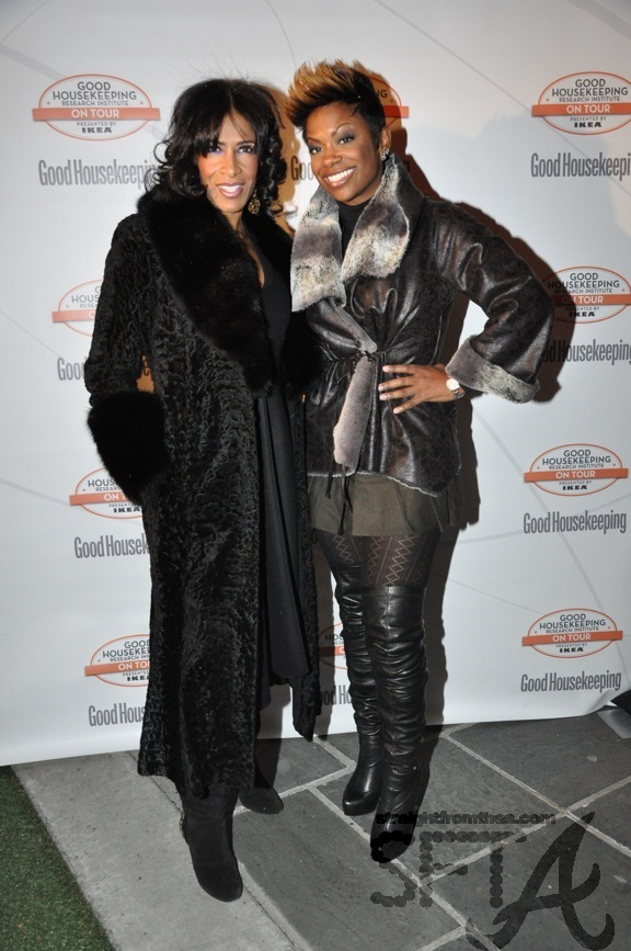 Sheree Whitfield & Kandi Burruss