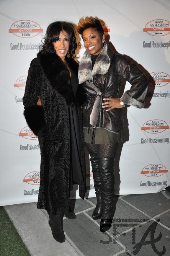 Sheree Whitfield & Kandi Burruss