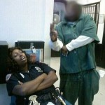 Pic of the Day ~ Inmate Poses While Sheriff Caught Nappin