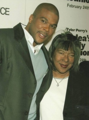 tyler perry & his mother