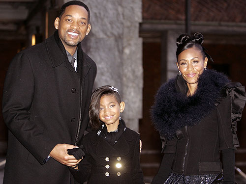 Will, Willow & Jada Smith