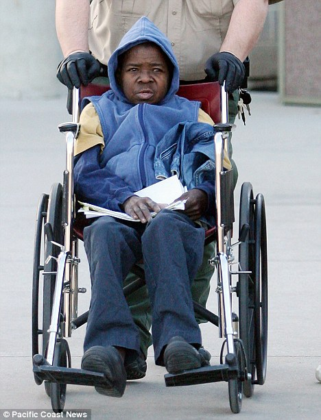 Gary Coleman Out Of Jail But In A Wheelchair Video