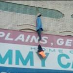 Barack Obama Doll Lynched in Plains, Georgia *News Footage*