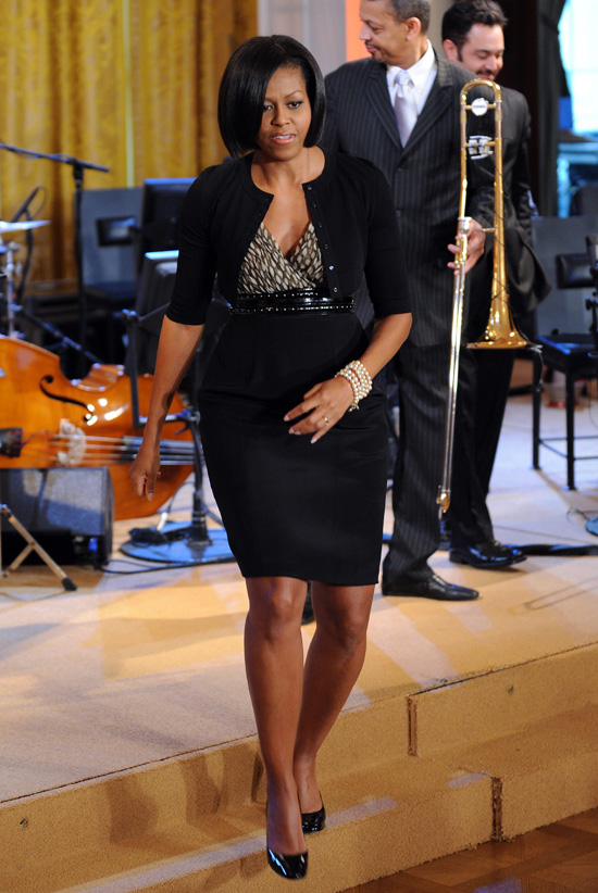 Michelle Obama Glee Club Preview Straight From The A