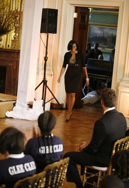 Michelle Obama Governor's Ball Preview