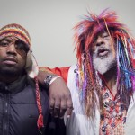 "Pic of the Day ~ Big Boi & George Clinton on the Set of ""For Yo Sorrows"""