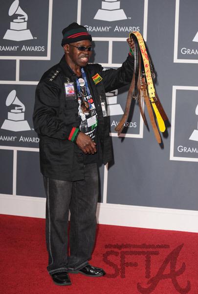 General Larry Patt at the Grammys