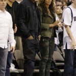 Love & Basketball ~ Jay-Z & Beyonce Boo'd Up Courtside
