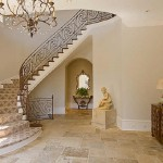 675 paces entry way